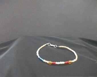 Samus Aran (Metroid) Inspired Handmade Beaded Bracelet