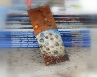 Michigan Photography Bookmark Petoskey Michigan State Stone