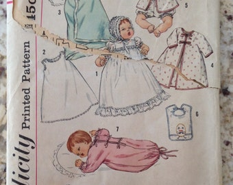 Vintage Simplicity Doll Pattern# 4191