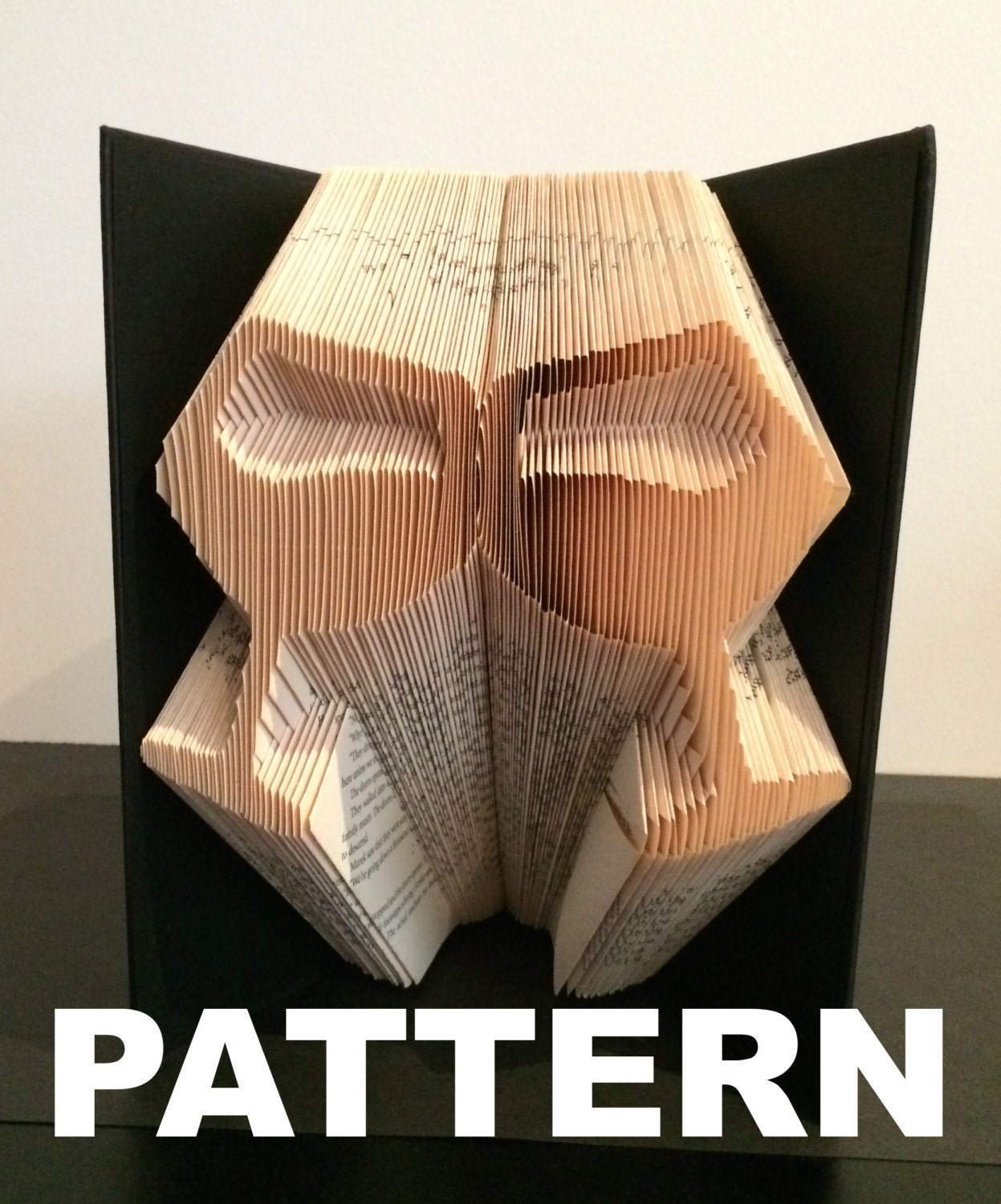book folding pattern wine glasses free instructions