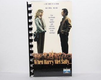 When Harry Met Sally VHS Cover Notebook
