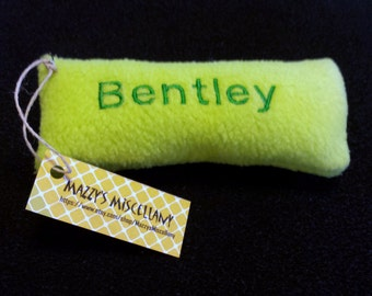 Personalized Dog Toy with Squeaker