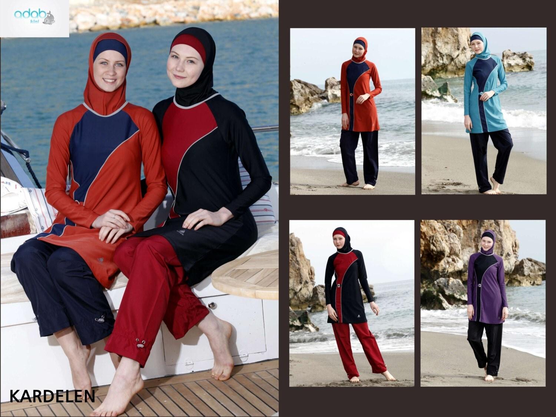 Femmes adabkini karde nautique plong e natation portent for Portent traduction francais