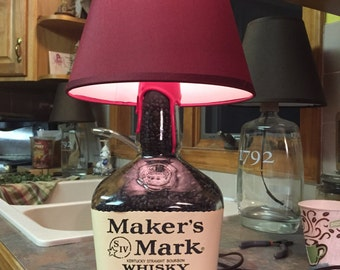 Makers Mark Lamp