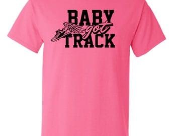 Funny T-shirt, Baby Got Track, Funny Track T-shirt