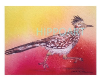 ROADRUNNER Southwest Greeting Card