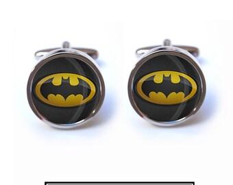 Batman Cufflinks - Superhero Batman Cuff links
