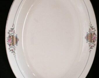 Derwood W.S. George Made in U.S.A. China Platter Pattern 298B (298B)