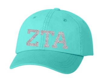 ZTA // Zeta Tau Alpha // Choose Your Colors // Sorority Hat