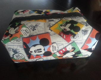 Mickey Comic Cosmetic Pouch