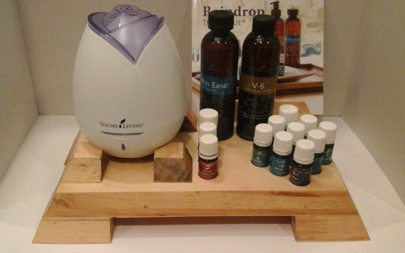 Raindrop Essential Oil Stand And Diffuser By Organizeyouroils