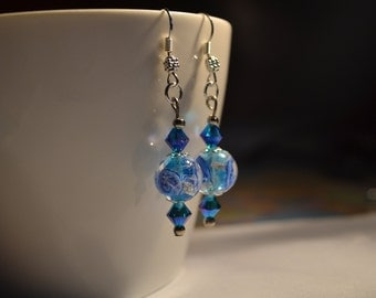 Crystal Lagoon Earrings