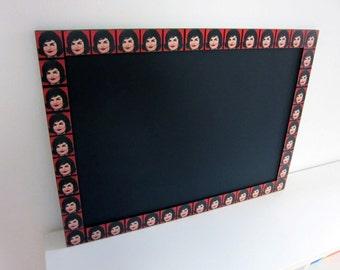WARHOL Pin Board FRAMED PINBOARD Office Board Handmade Bulletin Board Memo Board Notice Board Message Board Gift Kitchen Board Mirror Frame