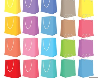 Shopping Bags Clipart