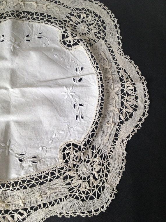 Doily Embroidery Richelieu Richelieu Embroidery