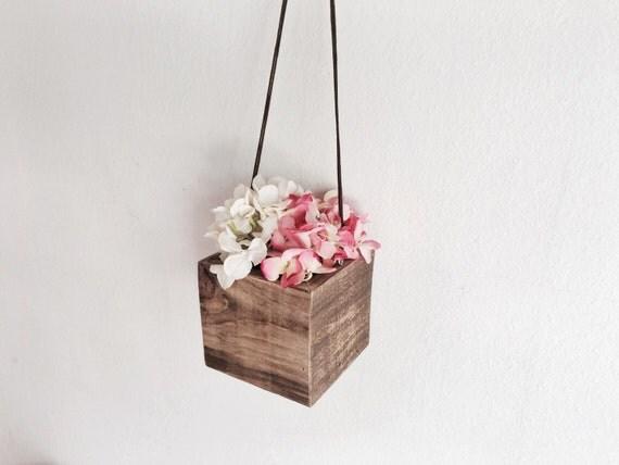 excellent hanging wood planter box 8