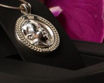 Silver Relief Pendant