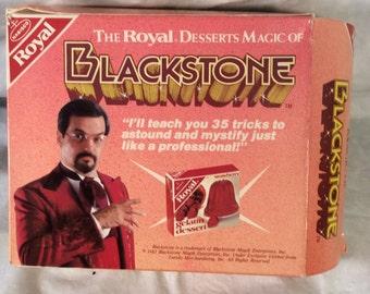 Harry Blackstone Jr Magic Kit Product Premium Nabisco Royal Gelatin 1983