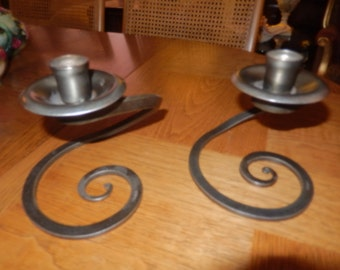 KENDALL HAND WROUGHT Candle Holders