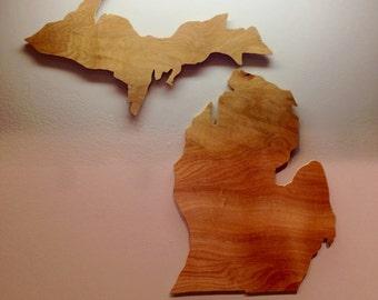 Wooden Michigan