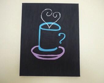 COFFEE, coffee time, I need coffee, coffee decor, kitchen decor, coffee cup, I love coffee, silhouette, cup of coffee, coffee love,