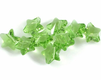 Swarovski Crystal 12mm Star Bead 5714 Peridot