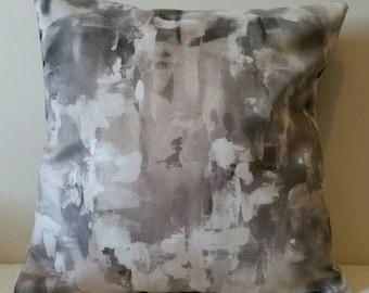 Printed Velvet Cushion - 43x43cm