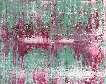 Modern contemporary abstract painting. ABSTRKT No 522