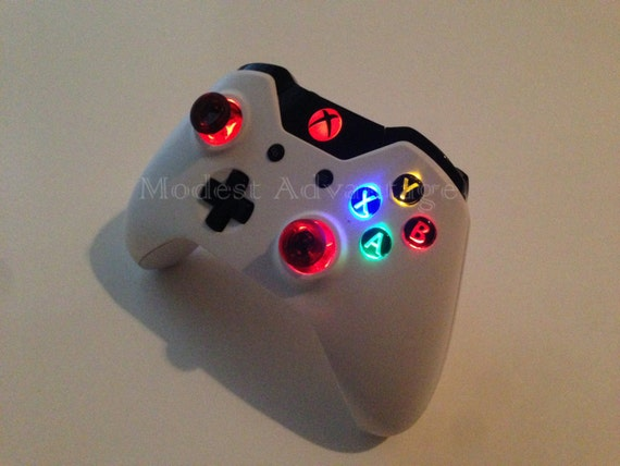 Xbox one controller led abxy mod se7ensins gaming community img solutioingenieria Image collections