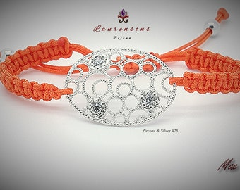 "Pulsera/Bracelet Mae XII  ""Zircons & Silver 925"""