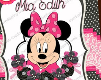Invitation Minnie Mouse
