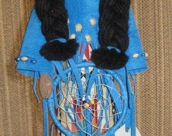 OOAK - Native American Dream Catcher Doll