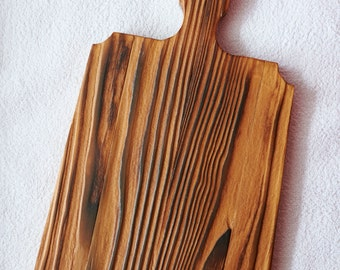 Cutting board with a beautiful natural pattern