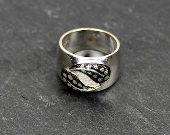 KASHONA GYPSY - ring made of silver - silver