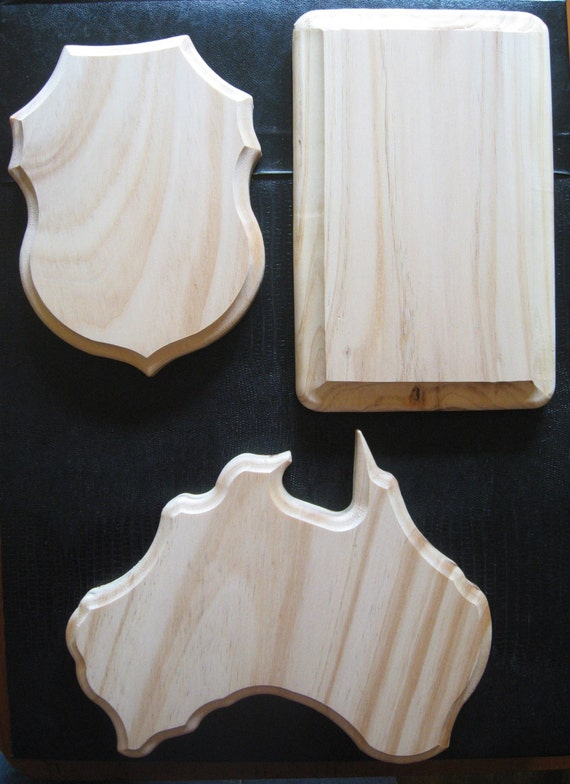 Craft Wood Shapes Large Solid Natural Pine Finish