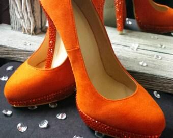 Burnt Orange Shoes