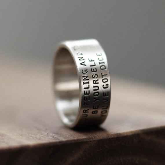 word ring ring name ring message ring promise ring