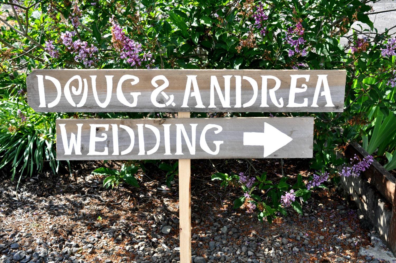 Rustic Wedding Signs Rustic Wedding Sign Reclaimed Wood