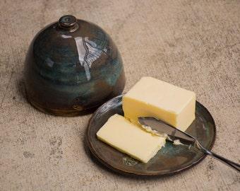 Handmade Pottery Butter Dish