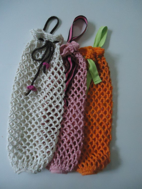 Crochet Pattern For Bags Plastic : Plastic Bag Holder Crochet Pattern by GetYourKnit2gether ...