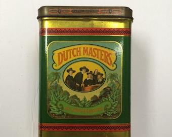 Vintage Dutchmaster 25 President Cigars Tin.