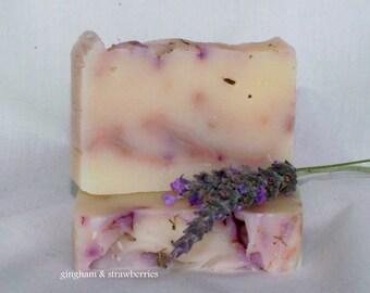 Handmade Lavender Soap - VEGAN SOAP