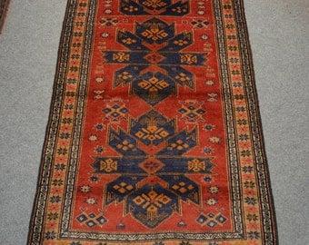 Vintage Afghan Taimani Baluch rug