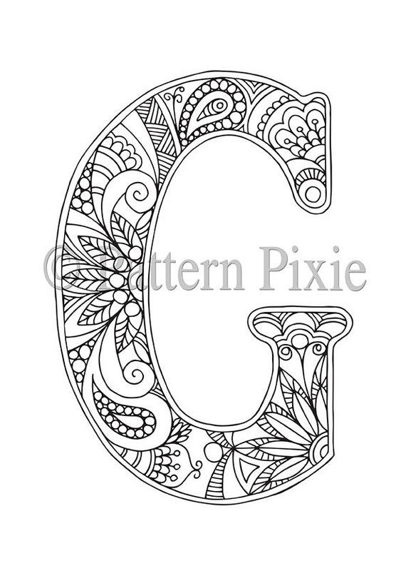 Intrepid image regarding free printable alphabet coloring pages for adults