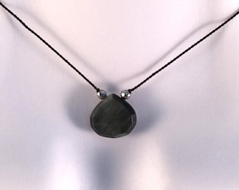 Black Cat's Eye Necklace