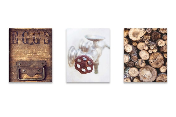 kitchen wall rustic wall decor set of by