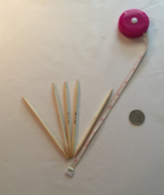 Knitting Needles Mm To Us : Us mm bamboo knitting needles double pointed