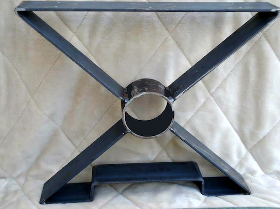 15 OR 18 X shaped Steel table legs metal table by ...