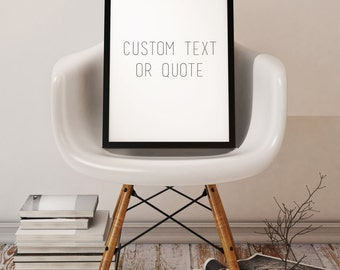Custom Quote or Text