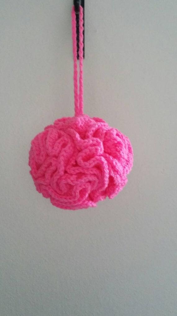 Free Crochet Pattern Bath Pouf : Crochet bath pouf Bath and Beauty bath puff Pouf Poufs
